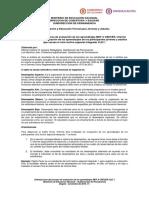 Orientaciones Finales Para Evaluacion Aprendizajes Promocion