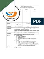 Spo 186 Ppi 7.1 Ep 1 Tata Tertib Memasuki Ruang Cssd (Bahan Kak Oya)
