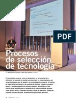 Procesos de selección de tecnología