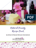 Natural Beauty Recipe Book School of Natural Skincare