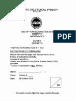 P5 Maths SA2 2018 MGS Exam Papers
