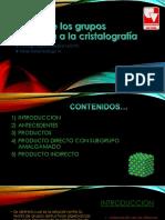 Teoría de Los Grupos Aplicada a La Cristalografía