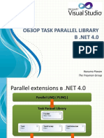 Parallelism on .NET 4 and VS2010