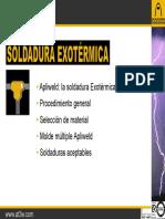 Apliweld_ La Soldadura Exotérmica Procedimiento General Selección de Material Molde Múltiple Apliweld Soldaduras Aceptables