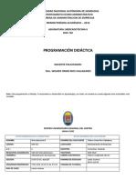 Silabus de Mercadotecnia II SPBC 2019