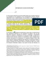 Calderón Cockburn - Planificando la ciudad informal. Lecciones desde abajo.pdf