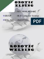 ROBITIC WELDING