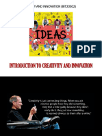 1. Creativity and Innovation - Introduction