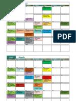 Activities Calendar 19-20 Feb 19