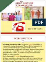 Emergency Codes in a Hospital
