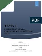 Ips Tema 1 (Karya Tulis)