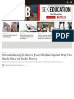 Filipinos Spend the Longest Time on Social Media, Says Report | Esquire Ph