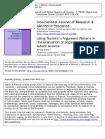 Using Toulmin's Argument Pattern in.pdf