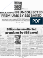 Philippine Daily Inquirer, Feb. 21, 2019, Billions in Uncollected premiums by SSS bared.pdf