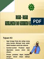 1. Dasar Dasar k3