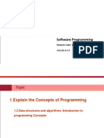Lesson-1-2 Data Structures and Algorithms -Introduction to Programming Concepts