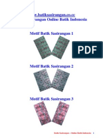 Batik Sasirangan 1 Online Batik Indonesia