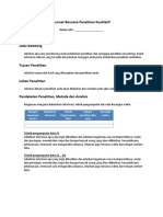 PRA Research Plan (Bahasa)