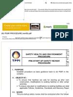 (III) Pssr Procedure (Rev00)