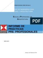 Informe de Practicas Arquitectura