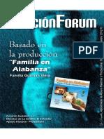 Libro_Cancion Forum Álbum FAMILIA en ALABANZA