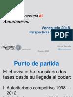 D La Democracia Al Autoitarismo 2018