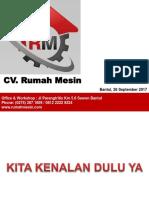 CV Rumah Mesin Present Tekkim UAD