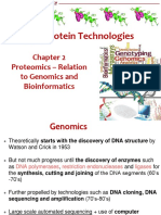 L2 Proteomics, Genomics and Bioinformatics
