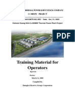 300 MW Thermal Power Plant Training Material for Operators