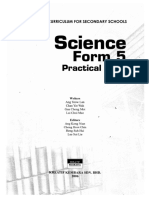 Science Form 5 Practical