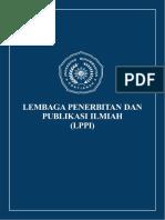 Panduan Menerbitkan Buku Di LPPI