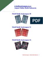 Batik Sasirangan 2 Online Batik Indonesia