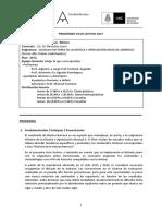 Programa Barroco 2017 UNC
