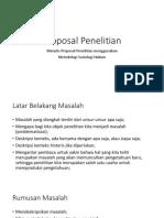 Proposal Penelitian Kuliah Soskum HTN
