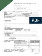 Fisa de Evaluare a Unitatilor de Procesare a Produselor Alimentare
