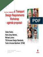 Agenda_LTE Radio_ Transport Design Requirements_WS_proposed