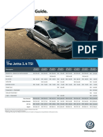 Jetta Service Pricing Guide
