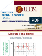 Chapter 7 Discrete Time Signal
