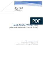 Panduan Pendaftaran Tes Di Pusat Bahasa UNAIR