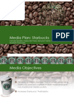 Media Plan Starbucks