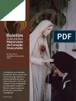 Boletim da serva de Deus Irmã Lúcia