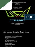 Chapter 1 Information Security Governance Final