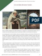 Catalina de Cardona, En La Otra Ladera Del Monte Carmelo – Teresa, De La Rueca a La Pluma