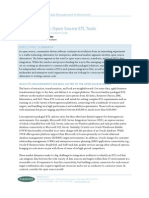 Forrester Research Market Overview Open Source ETL