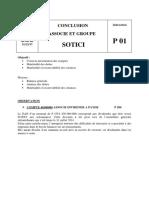 Conclusion Associe Et Groupe Sotici 2017