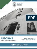 Informe 410 - Mercado de Trabajo 2018