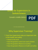Safety for Supervisors In