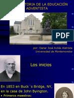 Breve Historia de La Educación Adventista (2)