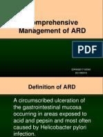 Comprehensive Management of ARD