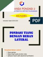 07 Daya Dukung Lateral 2018-1